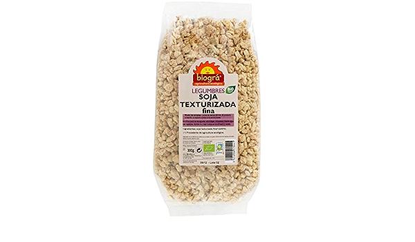 ijsalut - soja texturizada fina/mediana biogra 300 gr: Amazon ...