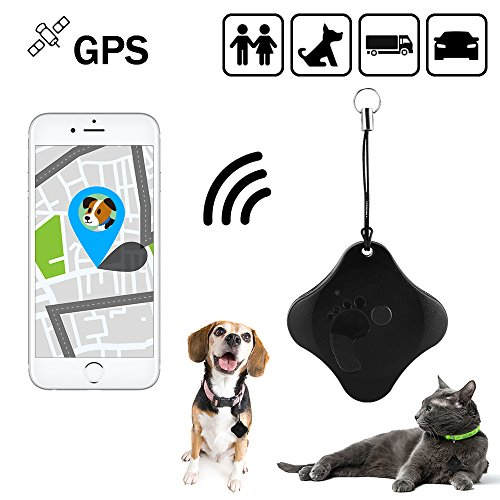 Appello Mini Waterproof GPS Tracker GSM/GPRS/WiFi Real Time Tracking Device Locator for Kids Pets Vehicles PS117