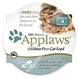 Applaws Cat Pot 2.1oz Sardine with Mackerel - 18 Pack Larger Image