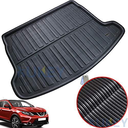 XUKEY for Nissan Rogue Sport 2017 2018 2019 Cargo Liner Boot Rear Trunk Mat Tray Floor Carpet Luggage Tray Mud Kick Pad Tailored