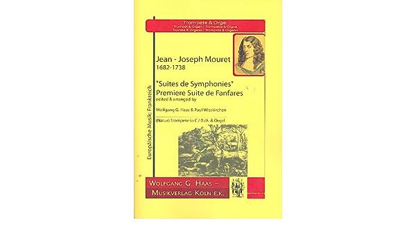 Suite de fanfares nº 1: Mouret, Jean-Joseph: Amazon.es ...