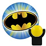 Tools & Hardware : Projectables 14536 Batman LED Plug-In Night Light, Yellow and Black, Collector's Edition, Light Sensing, Auto On/Off, Projects DC Comics Iconic Bat-Signal Symbol on Ceiling, Wall, or Floor