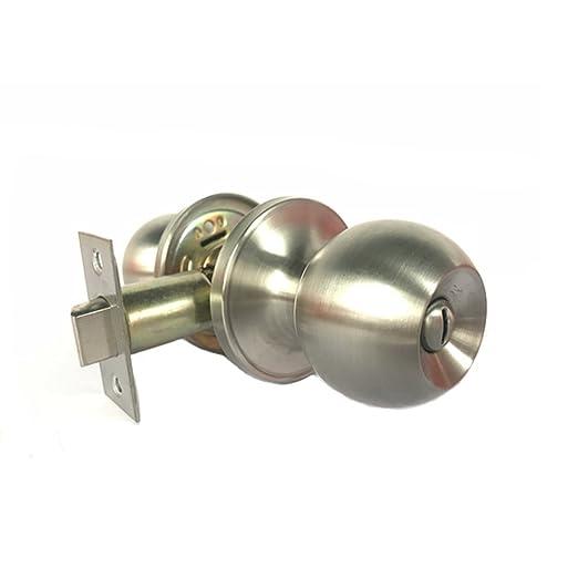 EVOIO - Pomo para puerta (acero inoxidable, con cerradura ...