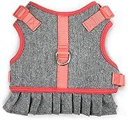 Martha Stewart Tweed Adjustable Fit Comfort Dress Harness for Dogs, Size 18