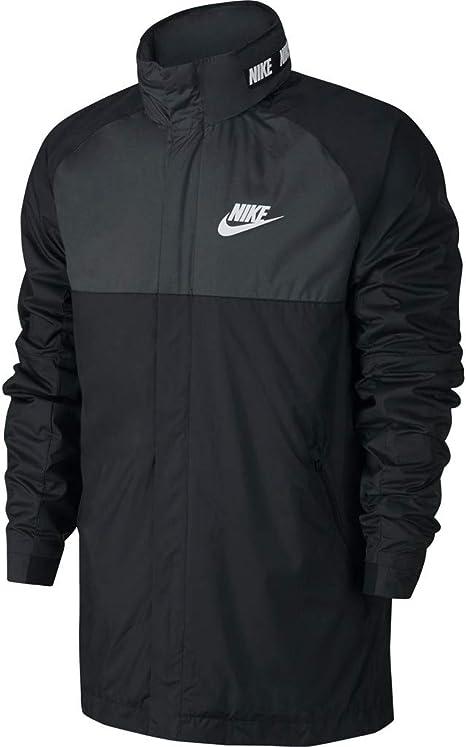 Sedante lluvia cigarrillo  NIKE Cortavientos Sportswear Advance 15 Negro/Gris/Blanco Talla: S (Small):  Amazon.es: Deportes y aire libre