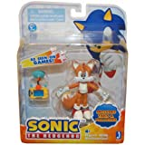 "Sonic 3"" Action Figure With Accessories Set Tails & Pda Device"
