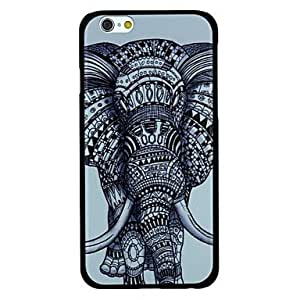 CuteFaiy Cases For Apple Iphone Elephant Pattern PC Hard Back Cover Case for iPhone 6