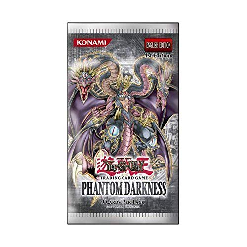 Mint YuGiOh Phantom Darkness Booster Pack Unlimited