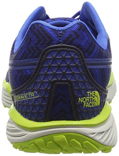 The North Face Litewave TR, Trail Homme Multicolore - Bleu/Vert (Blue Quartz / Lantern Green)