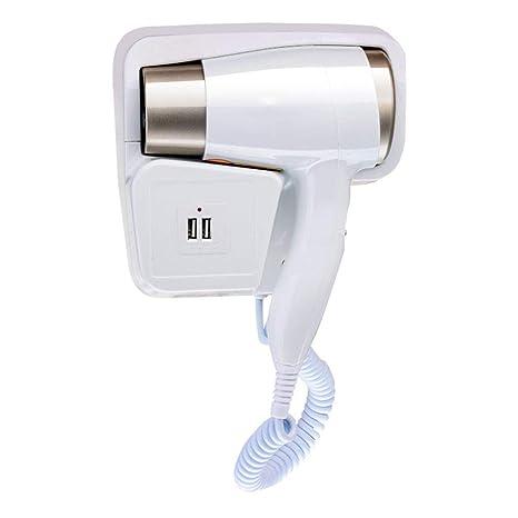 ZLH Secadores de pelo Viene con almacenamiento Secador de cabello - 1300W hotel montado en la pared ...