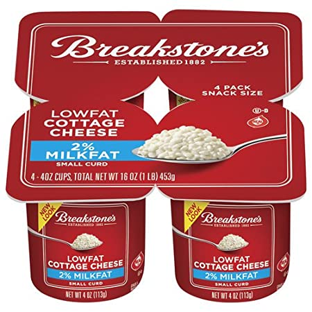 breakstone cottage cheese 2 small curd 4 ct snack size pack of 3 rh amazon com breakstone's cottage cheese doubles breakstone's cottage cheese nutrition
