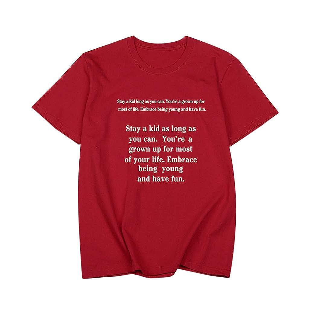 Haut Femme T-Shirt Humor Personnalisé Ado Fille Imprimé Tops Blouse Ete Bonjouree