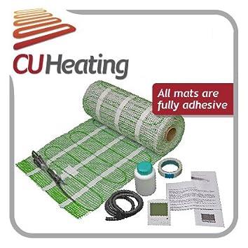 Electric underfloor heating 1-18m2 150W/m2 ALL SIZES CU Heating