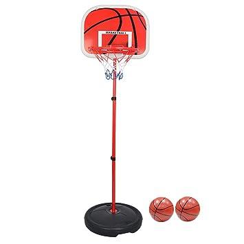 OviTop Panier de Basket Panier Mobile Sur Pied Hauteur Réglable de 73cm à 170cm pour Enfant cQTYW