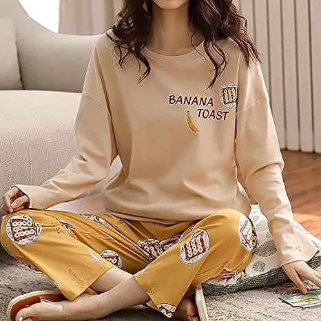 Goso Pijama Para Ninas De 8 A 14 Anos Ninas Pijamas De Manga Larga Y Pantalones Largos Pijama Con Botones Para Adolescentes Pijamas Y Batas Pijamas