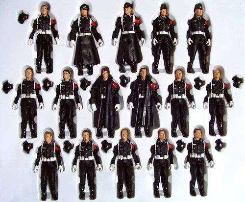 21st Century Toys Ultimate Soldier 1:18 Schutzstaffel SS WW II German set of 16 Figure -