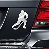 Ice Hockey Player Male Car Magnet Pose 3