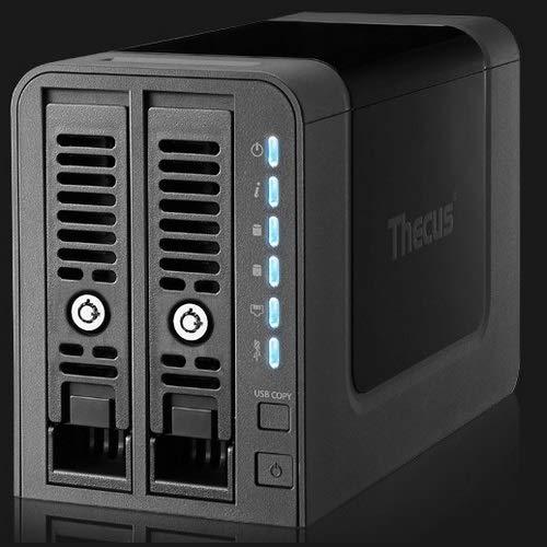 Thecus N2350 Servidor de Almacenamiento Ethernet Torre Negro NAS - Unidad Raid (Unidad de Disco Duro, SSD, Serial ATA II,Serial ATA III, 2.5/3.5