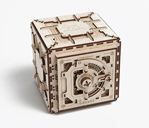 Safe Mechanical 3d Puzzle by UGEARS (Box 3d Puzzle)