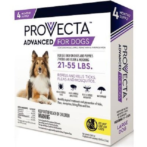 Provecta 4 Doses Advanced for Dogs, Large/21-55 lb