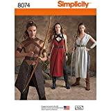 Simplicity Patterns Misses' Warrior Costumes Size: H5 (6-8-10-12-14), 8074