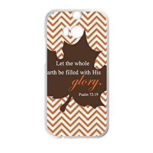 Canting_Good Christian Quote Bible Verses Pattern Print Custom Case for HTC One M8 (Laser Technology)