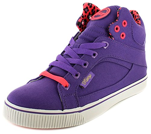 Neuf Femmes/Femmes Violet Pastry Sire à lacets salut-dessus Baskets Mode - violet - TAILLES UK 4-9