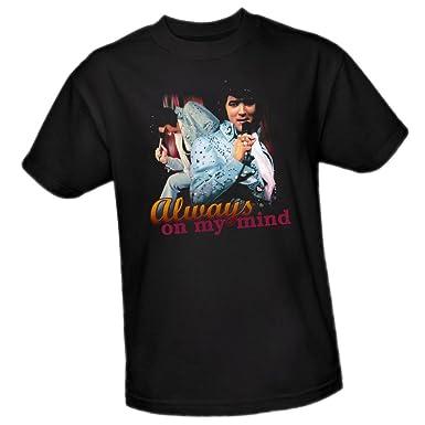 Elvis Presley ALWAYS ON MY MIND Licensed Women/'s T-Shirt All Sizes