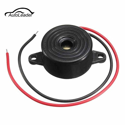 Sammiler - Sale Newest Useful NEW 3-24V Piezo Electronic Tone Buzzer Alarm 95DB Continuous Sound 12V Mounting Hole Car Styling ()