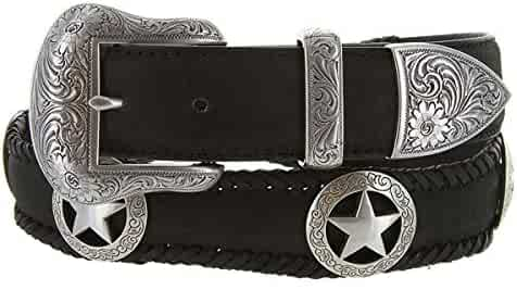 """Large Silver Star Concho One 1/"""" wide"""