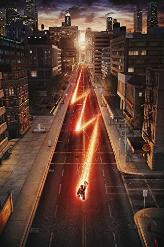 Amazon Com The Flash Barry Allen Silk Wall Poster Hd Large Room