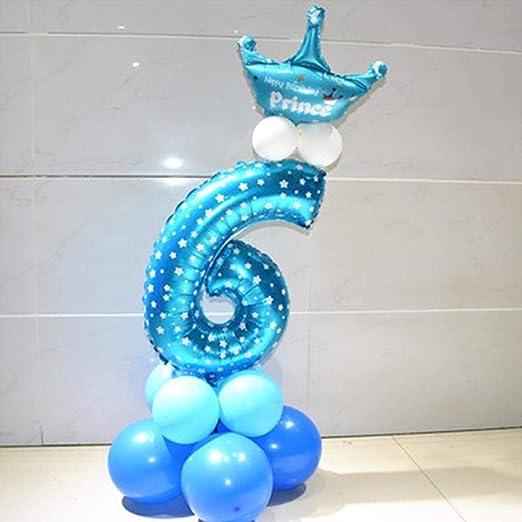 20 piezas Globos de cumpleaños para bebés Globo de papel de ...