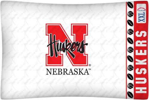 NCAA Nebraska Cornhuskers Micro Fiber Pillow Case ()