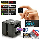 Hidden Spy Camera | Free 32GB Micro SD | Magnetic | 1080P Full HD | Motion Detection | Loop Recording | Cameras for Protection and Surveillance of Your Home and Office