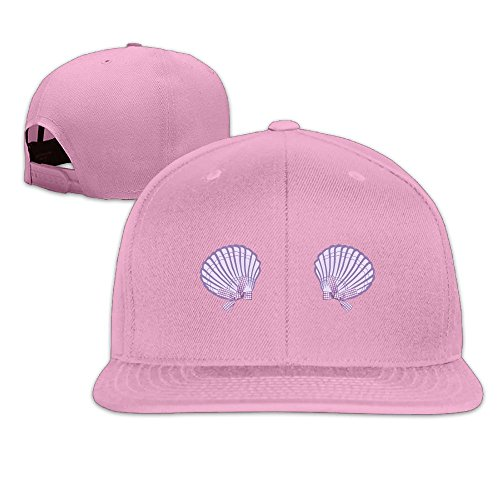 Vintage Mermaid Seashell Bra Violet 2 Sports Cotton Baseball Cap Boys Girls Hip Hop Flat Hat HAILIN TATTOO - Female Hollywood Characters Costumes