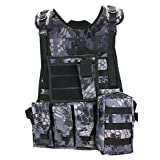 ThreeH Multifunctional Tactical Vest Paintball Game Shooting Gilet Outdoor Protective Body Equipment for CS