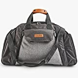 VonShef 6 Person Woven Grey Picnic Holdall