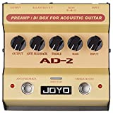 Joyo AD-2 Pre amp DI Box for Acoustic Guitar