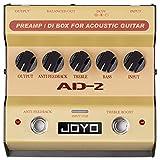 Joyo AD-2 Pre amp DI Box for Acoustic Guitar
