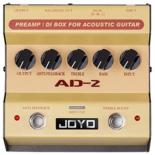 Joyo AD-2 Pre amp DI Box for Acoustic Guitar by Joyo Audio