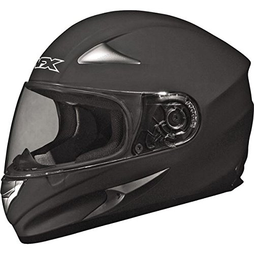 AFX FX-90 Solid Helmet , Size: Md, Primary Color: Black, Distinct Name: Flat Black, Gender: Mens/Unisex, Helmet Type: Full-face Helmets, Helmet Category: Street 0101-3345