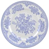 Burleigh Blue Asiatic Pheasants Lunch Plate by Burleigh