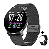 TagoBee Fitness Tracker TB11, Smart Watch IP68 Waterproof Activity Tracker, with Heart Rate Monitor, Blood Pressure Monitor, Pedometer, Calorie Counter Sports Fitness Watches for Men Women