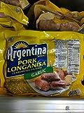Argentina Garlic Pork Longanisa Sausage 12 Oz (4 Pack)