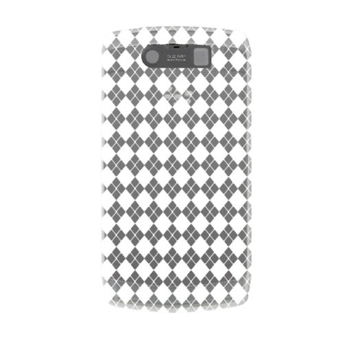 KATINKAS 600204 Soft Cover for BlackBerry 9520 - Checker - 1 Pack - Retail Packaging - - Berry Checker