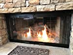 "Pathline Products 42"" Bi-Fold Doors For Superior Fireplace-BC42, BR42, HC42, RD42, BBV42 by Burgess Manufacturing Corporation"