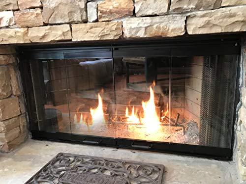 Galleon 36 Fireplace Glass Door Set To Fit Heatilator Unit