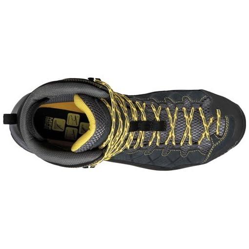 Salewa Men's Alp Trainer Mid GTX Alpine Trekking Boot | Hiking, Trekking, Scrambles | Gore-Tex Waterproof Breathable, Vibram Sole, Suede and PU Coated Leather Upper