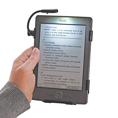 SimpleLight for Kindle 4th Generation Only, No Batteries Needed, See Photo for Compatible Model by Grantwood Technology