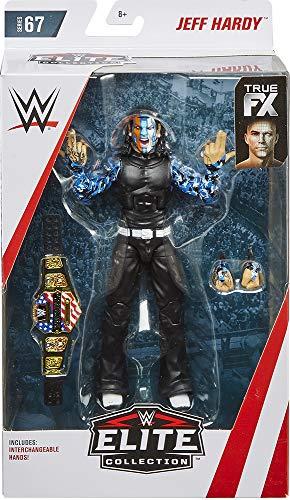 Ringside Jeff Hardy - WWE Elite 67 Mattel Toy Wrestling Action Figure